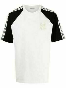 Moncler embroidered-logo T-shirt - White