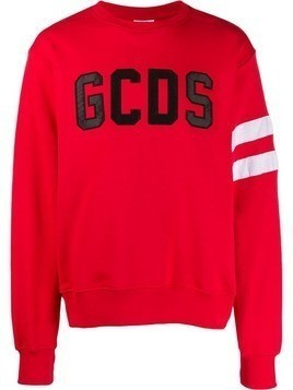 Gcds logo patch sweatshirt - Red