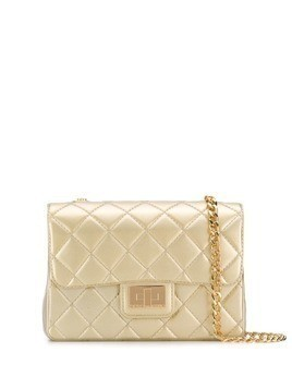 Designinverso Milano quilted crossbody bag - Gold