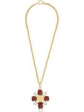 Chanel Pre-Owned 1993 CC necklace - GOLD