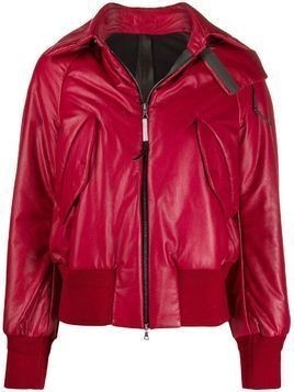 Isaac Sellam Experience Bebelle down jacket - Red