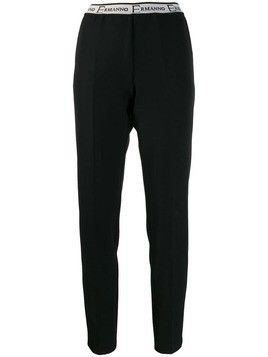 Ermanno Ermanno slim-fit trousers - Black