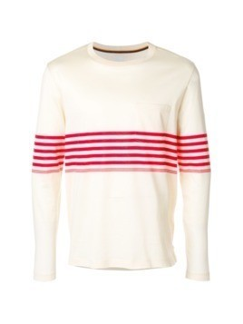 Paul Smith stripe detail T-shirt - Nude&Neutrals