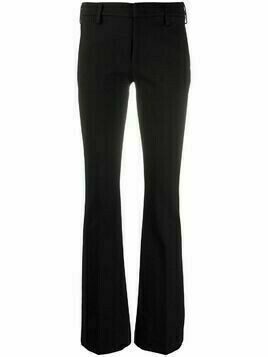Dondup high-waisted skinny-fit trousers - Black