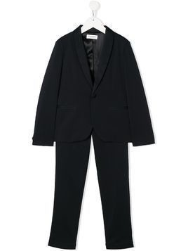 Paolo Pecora Kids tailored two piece suit - Blue