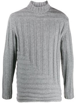 Falke roll-neck ribbed sweater - Grey