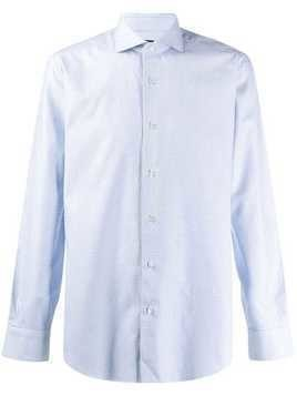 Barba long sleeve shirt - White