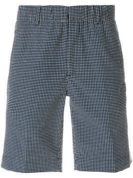Incotex - dotted shorts - Herren - Cotton/Polyester/Acrylic/other fibers - 54 - Blue