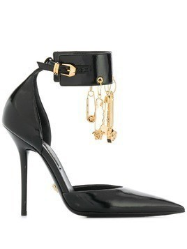 Versace charm detail pumps - Black