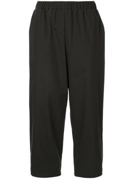 Dusan cropped trousers - Black