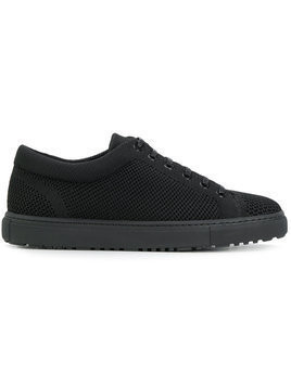 Etq. woven low-top sneakers - Black