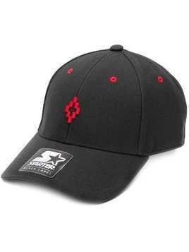 Marcelo Burlon County Of Milan Starter cross cap - Black