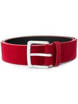 Orciani classic buckle belt - Red