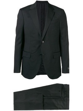 Ermenegildo Zegna two-piece formal suit - Black