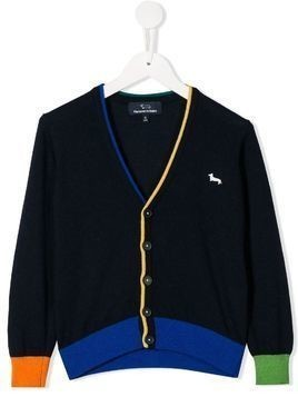 Harmont & Blaine Junior knitted cardigan - Blue