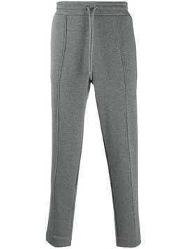 Moncler slim-fit track pants - Grey