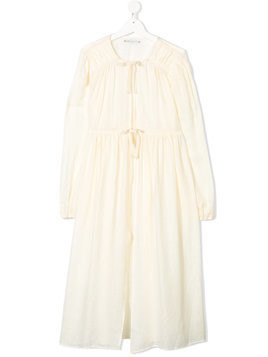 Little Creative Factory Kids TEEN long-sleeve flared dress - Neutrals