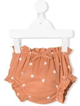 Emile Et Ida polka dot bloomers - Orange