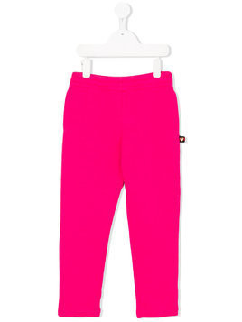 Gucci Kids plain leggings - Pink & Purple
