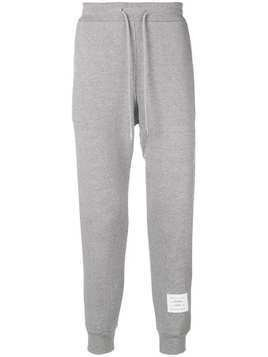 Thom Browne 4-Bar Honeycomb Piqué Sweatpant - Grey
