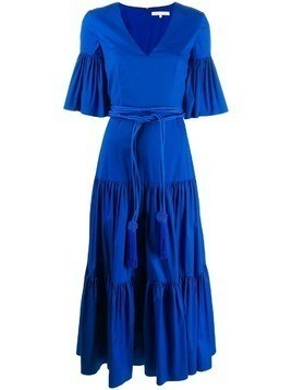 Borgo De Nor Teodora long dress - Blue