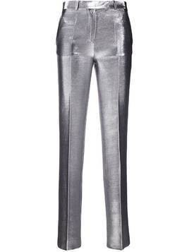 Each X Other shimmering metallic trousers - SILVER