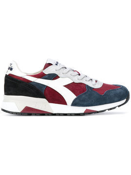Diadora - chunky sole lace-up sneakers - Herren - Leather/Polyester/Suede/rubber - 7 - Red