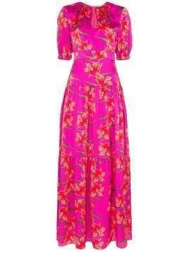 Borgo De Nor Alma floral print maxi dress - PINK