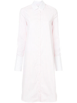 Monographie classic fitted shirt dress - Pink