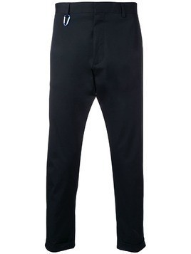Low Brand cropped tailored trousers - Blue