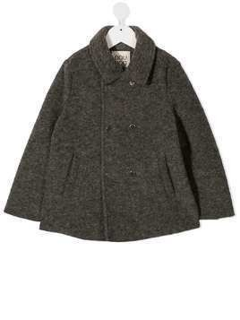Douuod Kids double-breasted coat - Grey