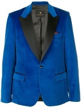 Lords And Fools velvet blazer - Blue