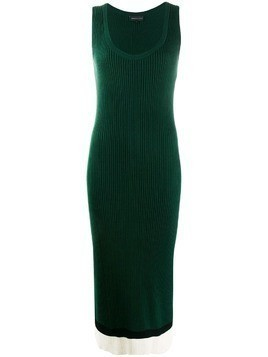 Cashmere In Love Ayla tank dress - Green