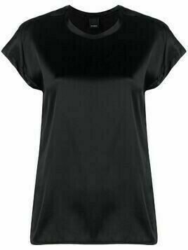 Pinko satin-effect blouse - Black