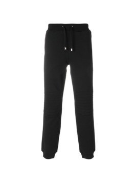 Versus gathered ankle track pants - Black
