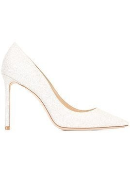 Jimmy Choo Romy 100 pumps - Metallic