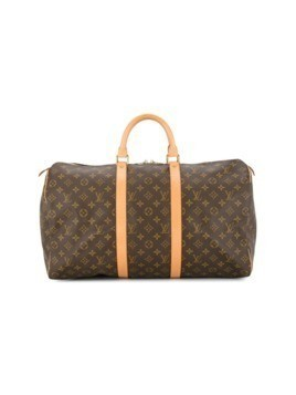 Louis Vuitton Vintage Keepall 50 travel hand bag - Brown