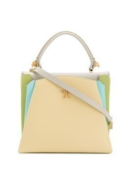 Giancarlo Petriglia Origami colour block tote - Neutrals