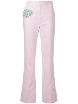 Toga stone embellished trousers - Pink & Purple