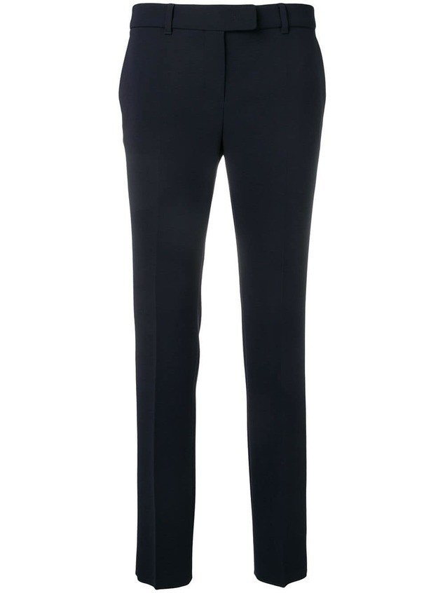 Max Mara Studio slim-fit tailored trousers - Blue