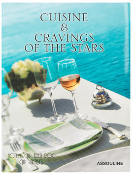 Assouline Cuisine & Cravings Of The Stars coffee table book - Blue