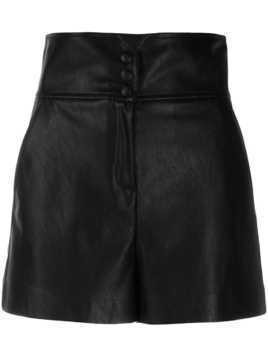 Pinko high waisted shorts - Black