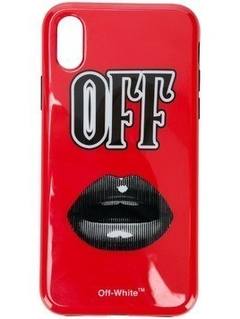 Off-White Iphone X case - Red