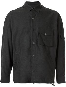 Martine Rose multi-pocket badge shirt - Grey