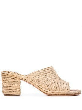 Carrie Forbes Rama heeled sandals - Neutrals