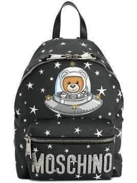 Moschino Space Teddy Bear backpack - Black