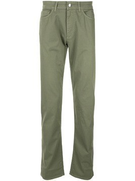 Gieves & Hawkes straight-leg trousers - Green