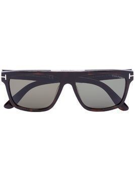 Tom Ford Eyewear tortoiseshell square sunglasses - Brown