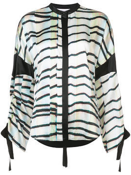 Kimora Lee Simmons Eden drawstring shirt - Multicolour
