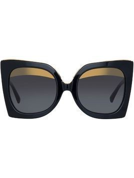 Nº21 Linda Farrow sunglasses - Black